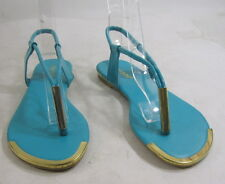 Summer NEW  Turquoise WOMEN SHOES ankle straps sexy SANDALS SIZE  5.5