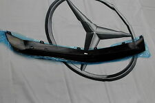 GENUINE A45 AMG Front Bumper Gloss Black Lip Spoiler Mercedes-Benz W176 A-Class