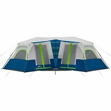 Camp Valley (10 Person) 2 Minute Instant 2-Room Cabin Tent