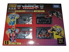 TRANSFORMERS ENCORE 15 CASSETTES LASERBEAK, RAVAGE, EJECT, REWIND NEW, TAKARA