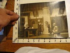 Vintage MARIONETTE PHOTO: the magic violine YOUGOSLAVIA court scene