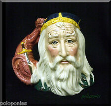 ROYAL DOULTON Merlin Large Character Jug D7117 - Limited Edition