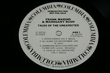 FRANK MARINO/MAHOGANY RUSH Tales Of The Unexpected  orig. US 1979 WLPROMO