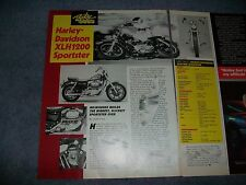 "1987 Harley-Davidson XLH1200 Sportster Vintage Info Article ""Milwaukee Builds..."