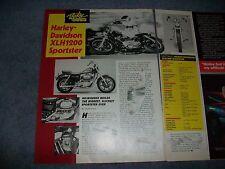 "1987 Harley-Davidson XLH1200 Sportster Vintage Info Article ""Milwaukee Builds..."