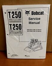 Bobcat T250 Track Loader Service Manual Shop Repair Book 1 Part # 6902451