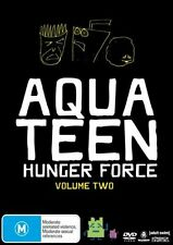Aqua Teen Hunger Force : Vol 2 (DVD, 2007, 2-Disc Set) NEW SEALED FREE POST