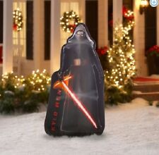 Gemmy Airblown Christmas Inflatables 5' Air blown Photorealistic Kylo Ren Star W