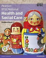 BTEC Nationals Health and Social Care: Student Book 1 + Activebook: For the 2...