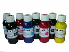 8x100ml Pigment refill ink for Epson Stylus Pro 3800 3880 4880 T580 T605 3K