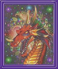 Cosmos Dragon~Delica Bead Peyote Pattern