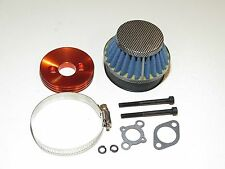 YY-MADMAX HPI KM ROVAN BAJA 1/5 5B 5IVE AIR FILTER W/ ALUMINUM MOUNT KIT CARBON