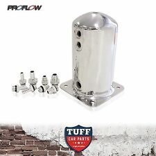 PROFLOW FUEL SURGE TANK SWIRL POT SUIT BOSCH 044 1.5L WITH AN & BARB FITTINGS