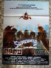SUPERMAN 2 * A1-Filmposter - German 1-Sheet 1981 SCI-FI - Christopher Reeve KULT