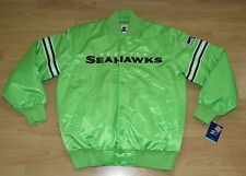 STARTER SEATTLE SEAHAWKS STADIUM VINTAGE STYLE JACKET MENS SIZE 2XL
