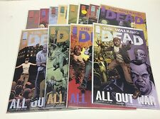 THE WALKING DEAD #115-126 (IMAGE/AMC SHOW/ALL OUT WAR/101692) COMPLETE SET OF 12