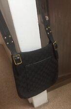 Genuine Black Gucci Over The Shoulder Bag