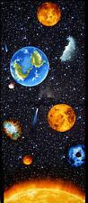 BENARTEX planètes OF THE SUN «I WANT MY SPACE» 60cm panneau 100 % coton 3382-99