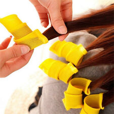 18pcs Magic Hair Curlers Curl formers Spiral Ringlet Styling rollers Tool