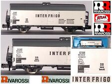 RIVAROSSI ATLAS 2461 VINTAGE VAGONE MERCI INTERFRIGO REEFER CAR DB BOX SCALA-N