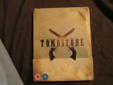 Tombstone Steelbook (Blu-ray Disc, 2010) Very Rare out Of print region free