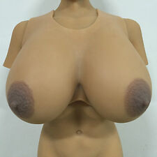 IVITA New Design 9.5KG Large Artificial Silicone Breast Forms For Men Soft Boobs