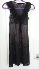 Mango going out black fitted dress size S/XS. Mint condition!