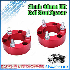 "Pair Toyota Hilux KUN26 N70 4WD Front Coil Strut Spacer 2"" 60mm Lift Kit"