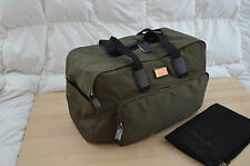 Authentic Dsquared2 Unisex Mens Weekender Green Nylon Leather Travel Bag Duffle