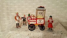 Lemax Carnival Popcorn  Cart Park  Vendor Looks Like Dept 56