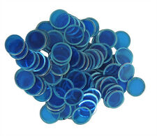 100 COUNT MAGNETIC BINGO CHIPS (BLUE)