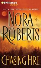 Chasing Fire by Nora Roberts (2011, CD, Abridged) Audio Book