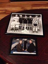 Deux photos signé Manchester City-une par Steve Reeves