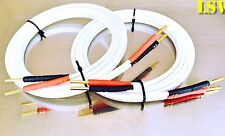 NEW QED REVELATION SIGNATURE AUDIO SPEAKER CABLES 2x 3.0m (A Pair) Terminated