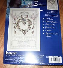 "1 Gorgeous ""Wedding Doves"" Counted Cross Stitch Kit"