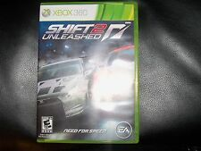 Shift 2 Unleashed: Limited Edition  (Xbox 360, 2011) EUC