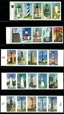 USA ATTRACTIVE COLLECTION LIGHT HOUSE POSTAGE STAMPS MNH