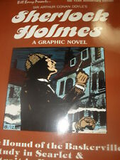 """SHERLOCK HOLMES"" 100TH Year Anniversary. Graphic Novel. 3 Stories 1st Printing"