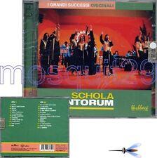 """SCHOLA CANTORUM """"I GRANDI SUCCESSI ORIGINALI"""" RARO DOPPIO CD - SIGILLATO"""