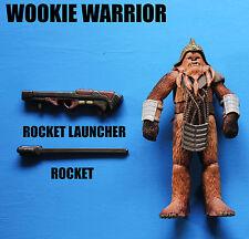 Star Wars Wookie Warrior Kashyyyk Invasion Army Builder Action Figure!