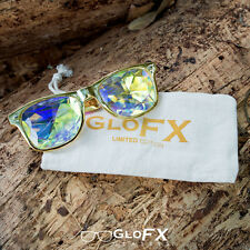 GloFX Kaleidoscope Glasses - LIMITED - fractal trippy 3D real glass crystal lens