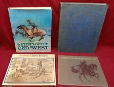 4 Book Lot-Artists of the Old West/Modern Am. Painting/see below for others