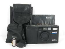 Ricoh GR-1V 28mm 1:2.8 Point and Shoot Film Camera W/CASE free shipping Japan