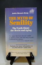 Myth of Senility by Robin M. Henig The Truth About the Brain and Aging Paperback