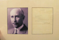 1928 Orville Wright Typed Letter Signed