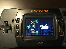 Atari Lynx II Portable Game System with new LED Screen, Amazing picture! VGA out
