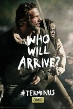 TELEVISION POSTER The Walking Dead Terminus Rick and Michonne