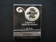 THE MAGIC PAN FRENCH RESTAURANT OMELETTES OF FRANCE SURFERS PARADISE - MATCHBOOK