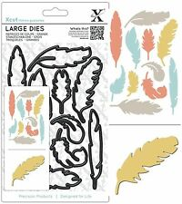 DOCRAFTS XCUT LARGE DIE SET FEATHERS SET CUTTING DIES NEW UNIVERSAL FIT