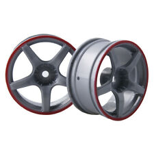 4x Wheel 26mm,Rim Hex 12mm, RC 1:10 On-Road Street Drift Car tires 9078